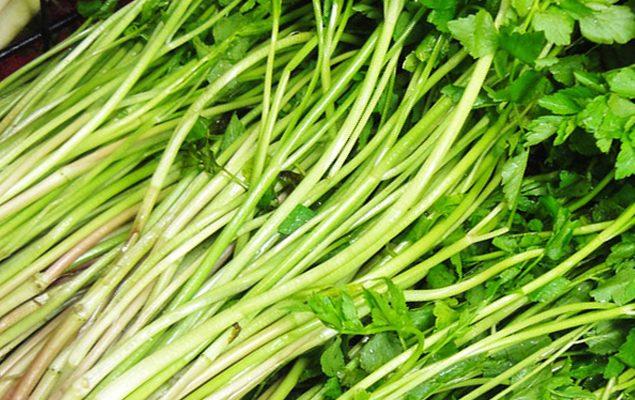 một số món ăn từ rau cần tốt hơn cả thuốc an thần